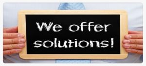 we offer solutions